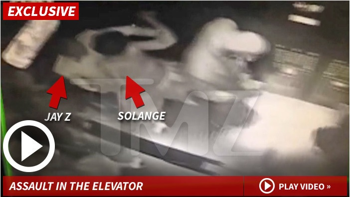 Beyonce's Sister Caught On Tape Viciously Attacking Jay-Z In Elevator
