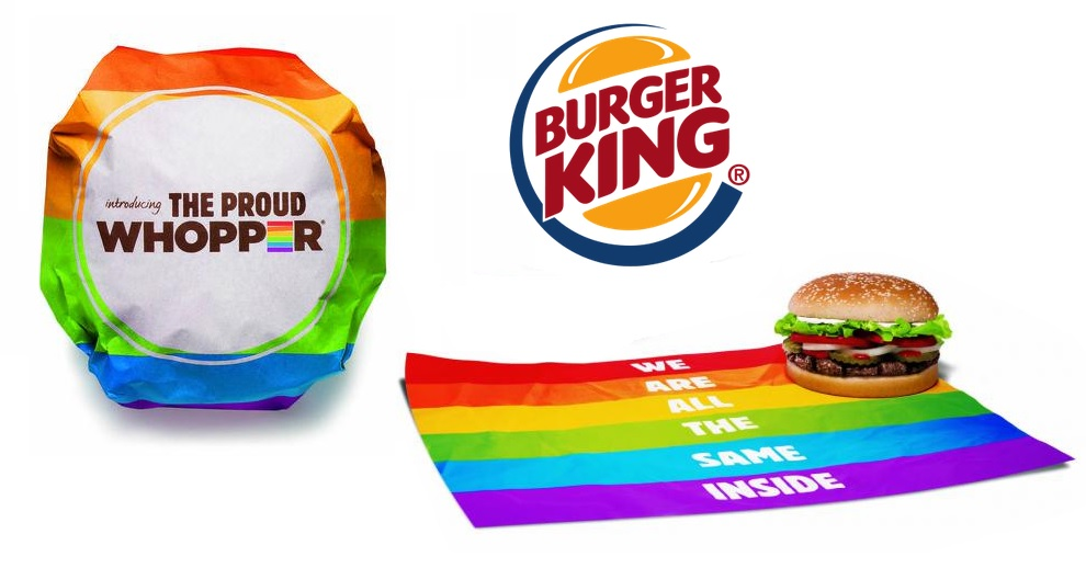 Burger King Introduces Rainbow-Wrapped Pride Whopper