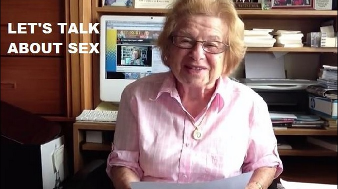 Dr ruth on anal sex