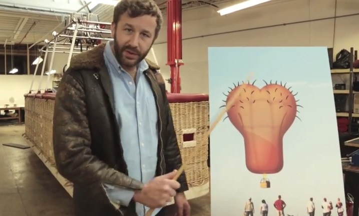 Help Fund A Giant Hairy Ballsack Hot Air Balloon To Raise Cancer Awareness