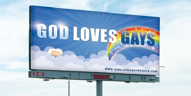 """Utah Ad Companies Reject """"God Loves Gays"""" Billboards To 'Avoid Controversy'"""