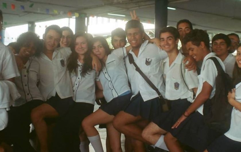 Boys Wear Skirts To Class To Protest School Punishing Trans Girl For Wearing Skirt