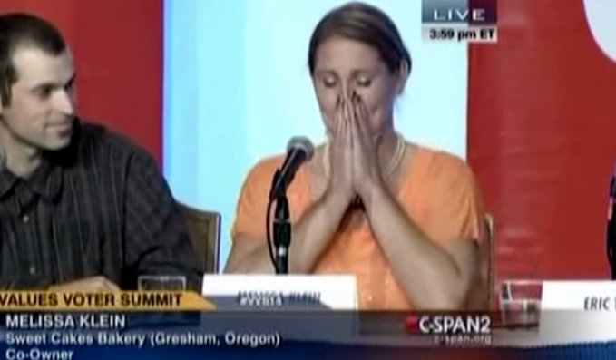 Christian Who Closed Cake Shop Rather Than Serve Gay Couples Breaks Into Tears