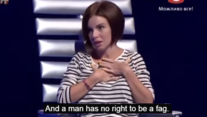 t.A.T.u. Singer Would 'Condemn A Gay Son' Because 'No Man Has A Right To Be A Fag'