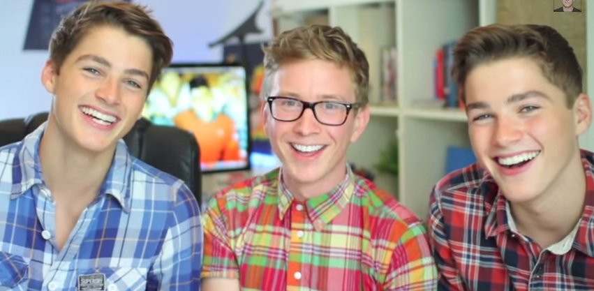 Tyler Oakley Teaches Adorable Straight British Twins Gay Slang