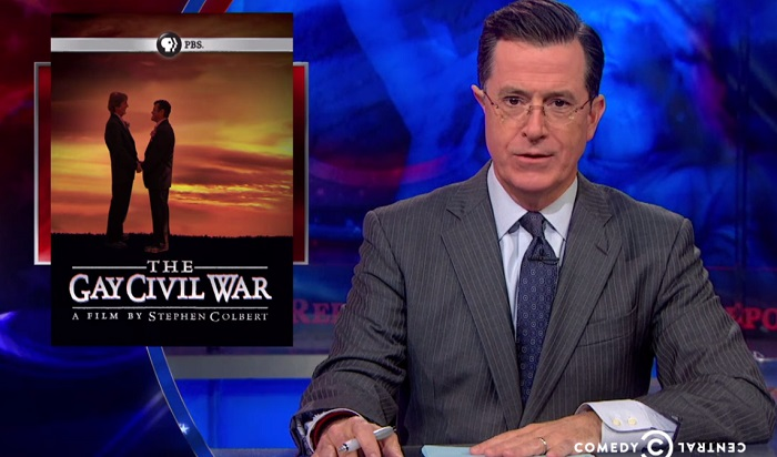 from Harvey steven colbert anti gay marriage