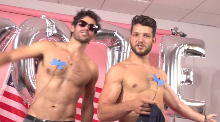 Cosmo Sends Party Bus With Shirtless Male Models To Rock The Vote In North Carolina