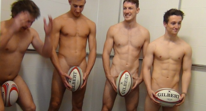 SHU Rugby Players Get Naked For Charity Calendar [NSFW]