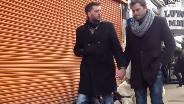 Two Straight Men Hold Hands On The Street, Sadly Discover Homophobia Is Alive And Well