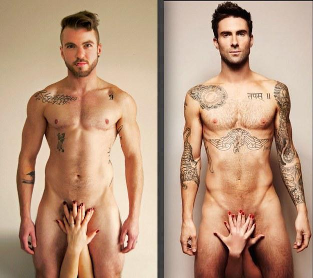 trans adam levine recreation