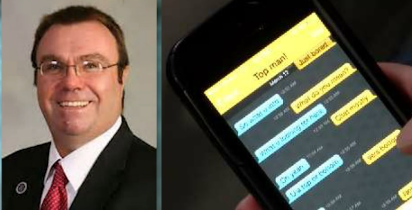 anti republican outed after sending explicit photos through grindr