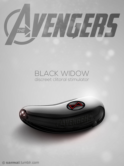 avengers-vibrators-dildo-sarmai-black-widow