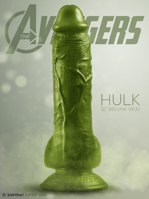 avengers-vibrators-dildo-sarmai-the-hulk