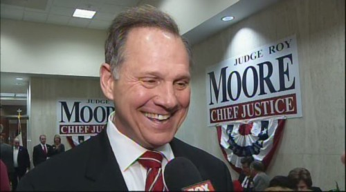 chief justice roy moore same sex marriage in Rotherham
