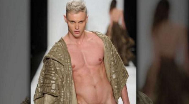 MAN CANDY: French Model Laurent Marchand Caught in the