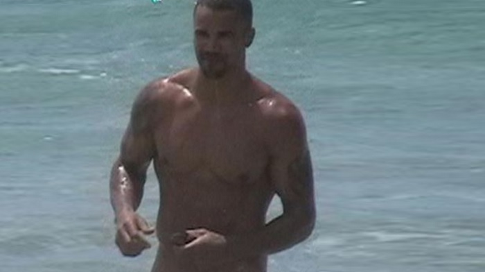 Excellent Shemar moore naked on beach