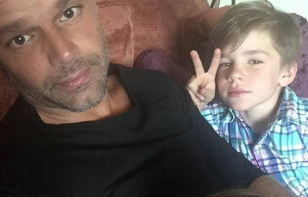 Curious Ricky martin twin sons