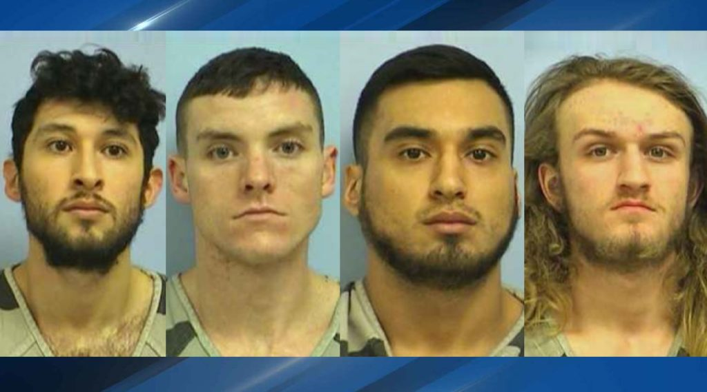 Four Men Charged In Brutal Beating Of Gay Couple Who Held Hands In